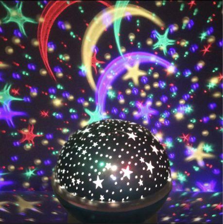 Нічник зоряне небо , ночник звездное небо , звезды