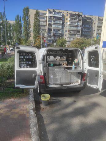 Мобильная кофейня. Кофемобиль.
