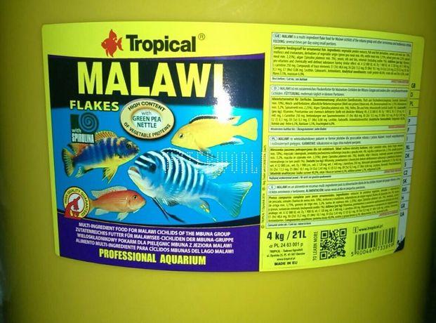 Malawi mix 190 gram - ryby, pokarm pyszczaki.