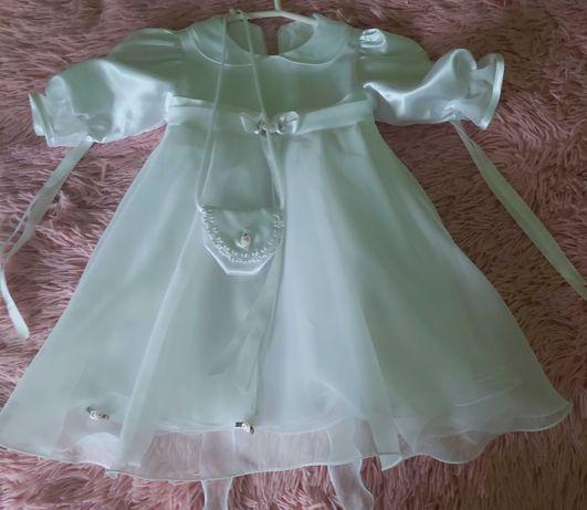 Sukieneczka dla dziewczynki - chrzest
