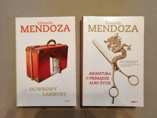 Eduardo Mendoza - Oliwkowy labirynt i Awantura o pięniądze albo życie