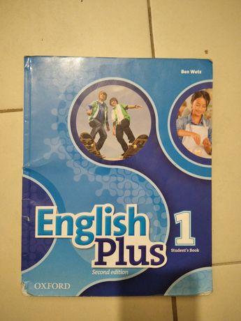 Книга английского языка oxford English Plus 1