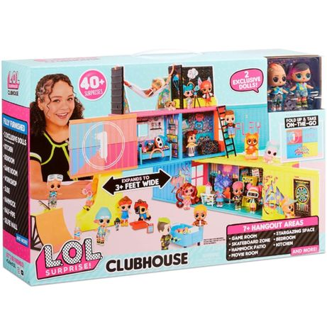 Игровой набор LOL Surprise Клуб. L. O. L. Surprise Clubhouse Playset