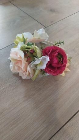 Wianek opaska z kwiatami wianek do sesji