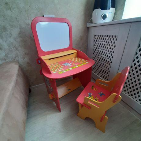 Парта, стол и стул