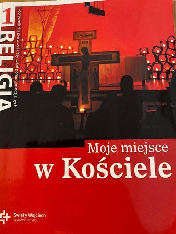 """podręcznik """"Moje miejsce w Kościele"""", wydawnictwo św. Wojciecha"""