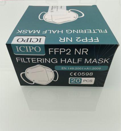 Mascara de protecao FFP2 NR 20 unidades