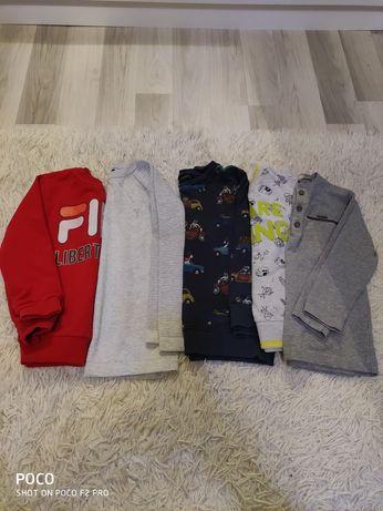Bluzy Next Reserved Fila 5-6 lat