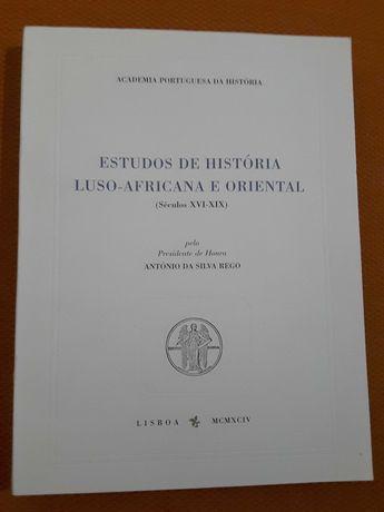 Estudos de História Africana e Oriental / Estudos Históricos