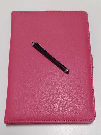 iPad Capa Rosa em Pele