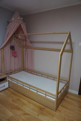 Sprzedam łóżko z materacem 90x190