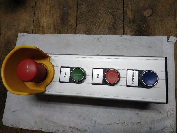 aluminiowa kaseta pilota z przyciskami, manipulator
