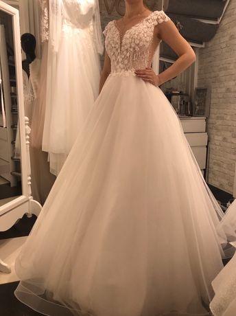 Nowa Suknia ślubna -AMANDA