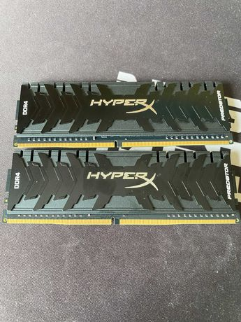Kingston DDR4 16GB(2x8GB) 3600MHz HyperX HX436C17PB4/8