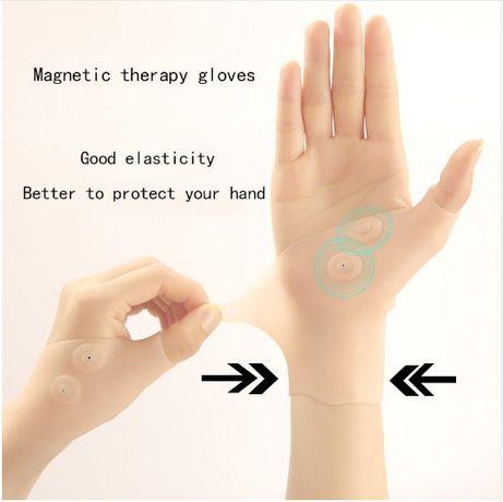luva Silicone Gel Terapia Magnética Apoio Para O Punho Polegar