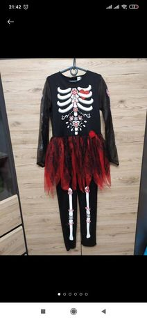 Костюм скелет для дівчинки