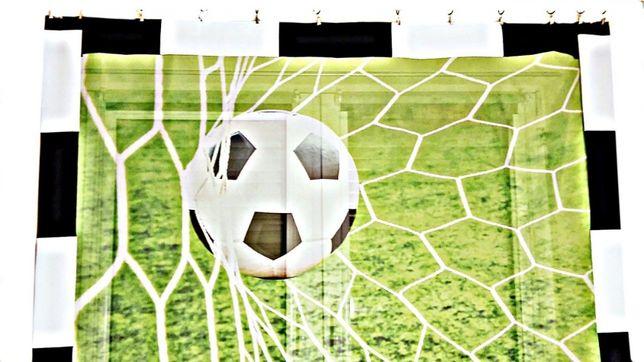 Firanka Piłkarska dla dzieci 150x145 Piłka w bramce Zielona - BP