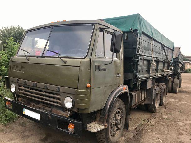 Продам КАМАЗ 55102 с прицепом