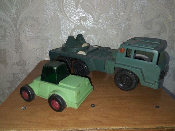 Набор моделей военной игрушки  СССР.Тягач и Ракетовоз.Одним лотом.