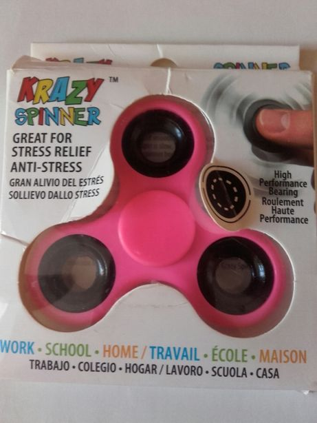 Nowy Neonowy Różowy spinner