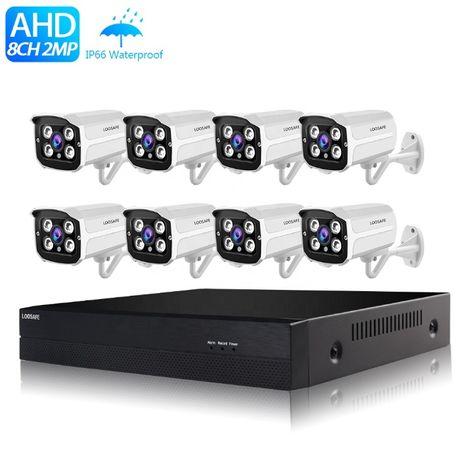 Zestaw do monitoringu 8 kamer 2Mpx