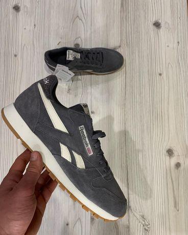 Оригинальные кроссовки кросівки reeboc classic кожа замш nike puma