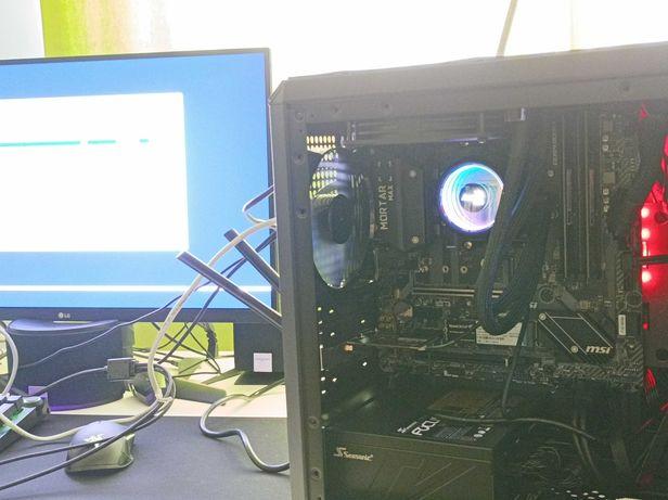 Computador novo Ryzen 7 | 16gb Ram | disco NVME + SATA | Cooler AIO