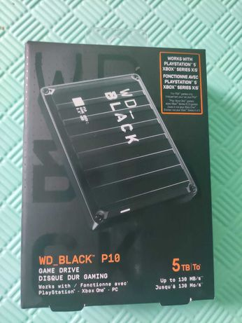 Внешний жесткий диск WD Black 5Tb