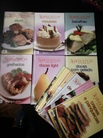 Coleção completa 30 receitas em 30 minutos - 12 livros Como Novos!