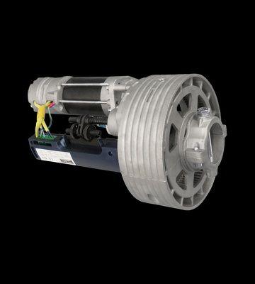 Motor grade de enrolar com instalação