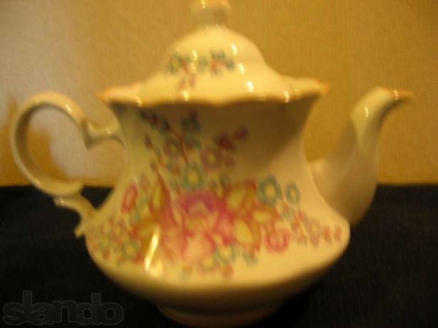 Чайно-кофейный сервиз 15 предметов из фарфора