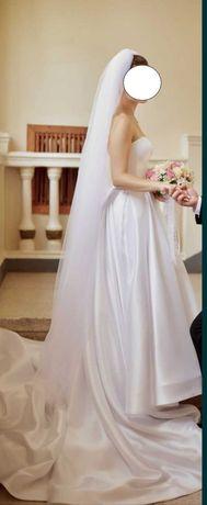 Свадебное платье размер М 44 украинский