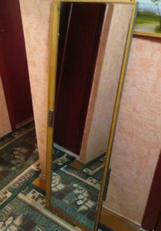 Зеркало большое ссср 140/40 см. Пересылаю Зеркало в примерочную