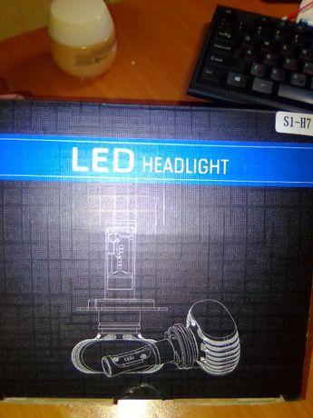 Продам лампы LED с цоколем Н7