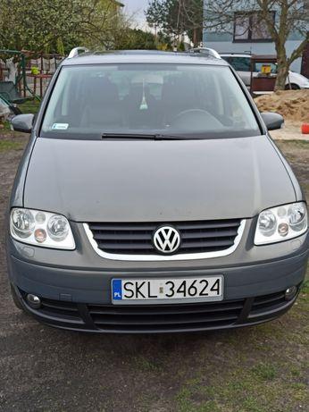 Volkswagen Touran 2.0 Tdi SKÓRA NAWIGACJA WEBASTO