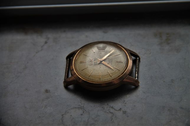 Ogival - 21 Jewels - GOLD Stamp - Men Vintage Watch - 1950