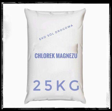 CHLOREK MAGNEZU eko sól drogowa op.25kg