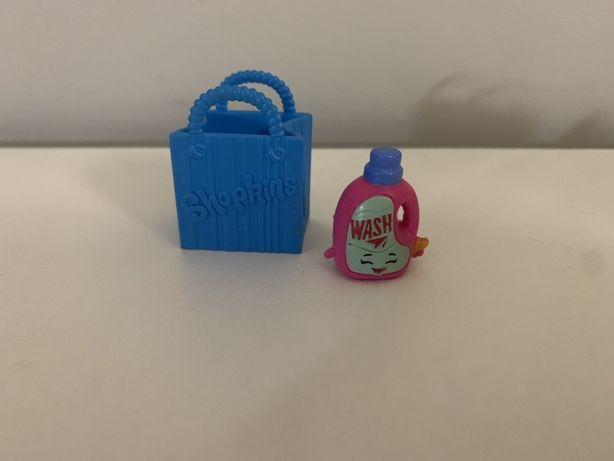 Shopkins - figurka płyn do prania + torba na zakupy