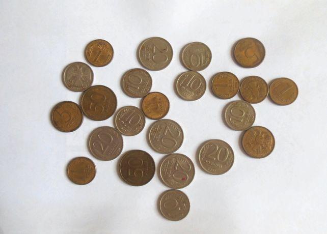 Монеты банк России 1 5 10 20 50 рублей