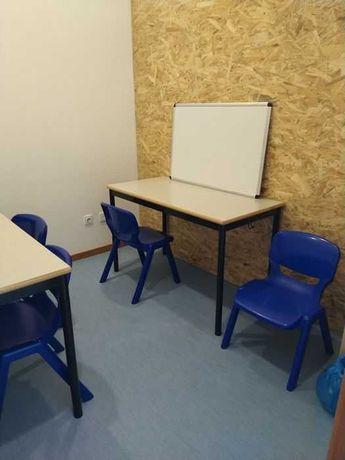 Sala equipada para alugar - Explicações