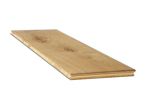 Deska podłogowa dwuwarstwowa, klasa RUSTIC, szerokość 14cm