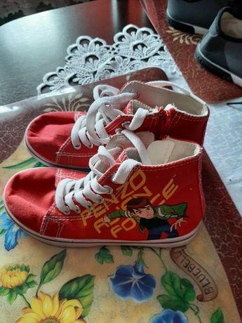 Buty tenisówki 30 chłopięce plus gratis