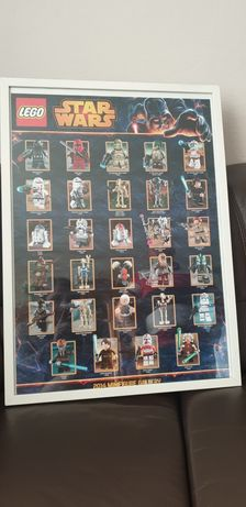 LEGO STAR WARS plakat kolekcjonerski 68x48