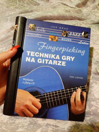 Fingerpicking Technika gry na GITARZE + płyta CD (NOWE)