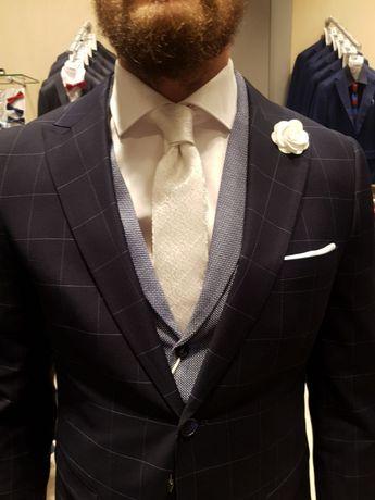 Krawat ślubny PAWO