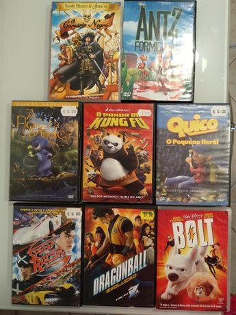 6 DVD s infantis (ver descrição)