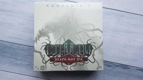Cthulhu: Death May Die - Kampania 2 - gra planszowa NOWA