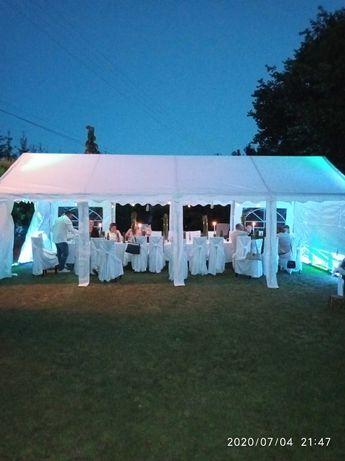 Wypożyczę namiot  ogrodowy bankietowy biały. Wymiary 4mx8m