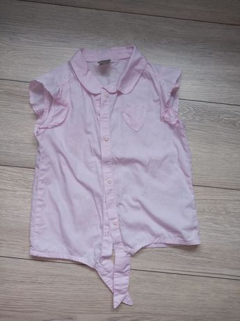 Dziewczęca koszulka bez rękawów rozmiar 134