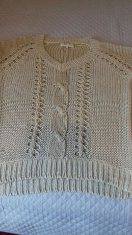Sweterek sweter bluzka damska Papaya roz.L-XL 38 40 42 jak nowa
